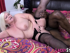 Meaty Black Cock for Grandmother