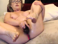 An Old Fucking Granny Squirting