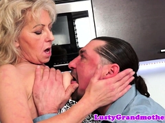 Mature euro inexperienced pussylicked and boned