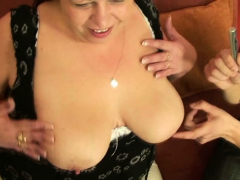 Big tits older mature woman threesome pounding Point of view