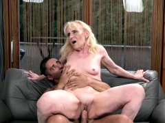 Ginormous Rigid Cock for Granny