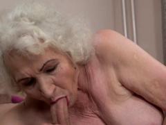 Dick sucking pensioner