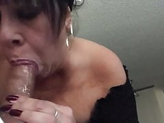 gilf still loves to inhale cock