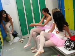 Group restrain bondage gobbling  Super-steamy ballet woman orgy