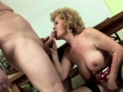 Granny gets down and dirty with fellow