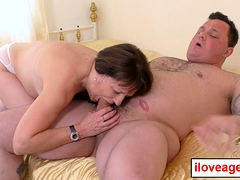 Pandora rails and bounce nicely on Seth's massive cock