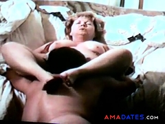 granny getting her cunt licked