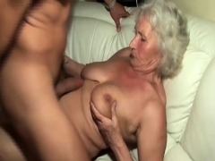 old grandma rough boinked