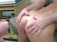 enjoys orgy in the office