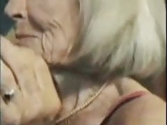 Grannie Molly - 90yo gentle gangbang casting