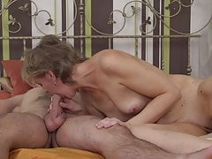 Taboo sex with mature  and young son