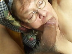 MEXICAN GRANNY HAVING FUN