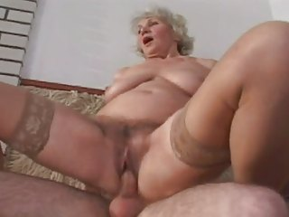 Another One of Granny Norma Fucking involving Stockings
