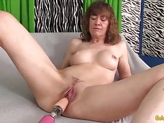 Golden Slut - Mature Women Vs Penetrating Machines Compilation 3