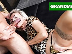 Sluttiest Granny Craving for Internal ejaculation