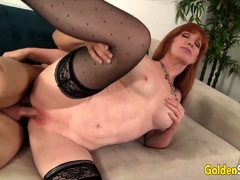 Golden Slut - GILF Freya Fantasia Comp 1