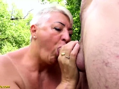 stepson fucks bbw mom on public beach