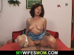 My girlfriends mom sucks and  beef whistle