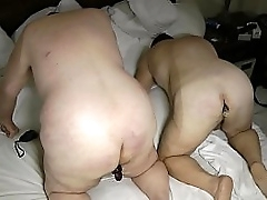 Granny opening the ass be worthwhile for three male slaves