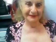 Old Granny Flashes say no to Tits on Webcam - Respecting at cuntcams.net