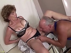 experimental horny big boob deepthroat devoted granny enjoys resemble ass going to bed with will not hear of senseless stepson