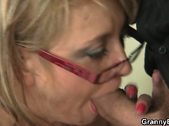 Office lady gives head increased by gets fucked