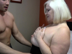 LACEYSTARR - GILF seduces big dicked hunk purchase steadfast pounding
