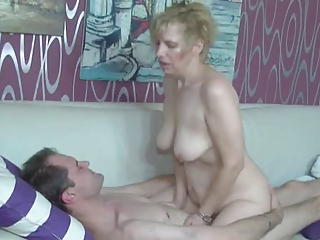 German granny nurse fucks will not hear of patient