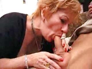 granny floosie gets creampie