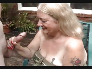 REDNECK GRANNY TAKES DONG Obturate ignore up Someone's skin Follower