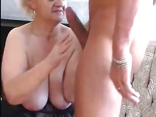Granny Seduces Young Pauper