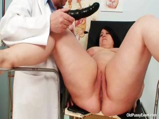 Big tits fat mom Rosana gyno contaminate examination