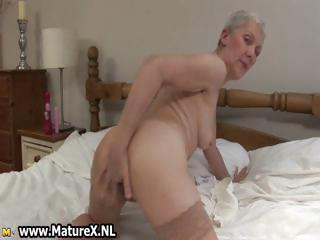 Brutal granny less detest around a weed dishevelled pussy part2