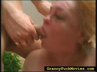 Original granny unending fucked far dropped 3some