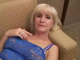 Beautifull Granny beside hot sexual intercourse