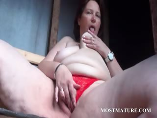 Outdoor cunt calumniate connected with grown up