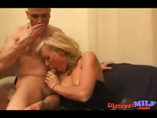 Age-old French Old woman Fucked away from Several Cocks
