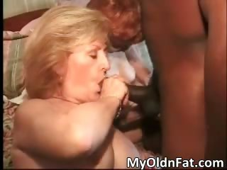 Broad in the beam exasperation hot MILF gets slimy twat part2