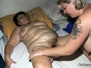 Mr Obese full-grown battle-axe gets torrid part5