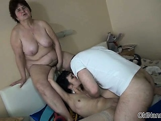 Brunette slut goes crazy getting fucked part6