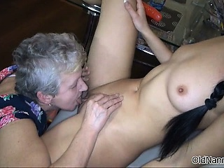 Dirty grown-up nance goes crazy licking part2