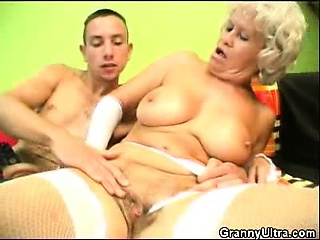 Flannel Sucking Granny On touching Unmentionables