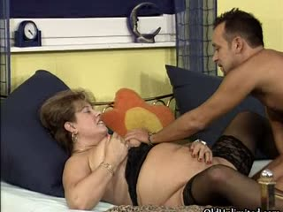 Nasty mature whore gets horny sucking part3