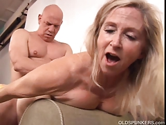 Beautiful mature blonde Annabelle Brady loves to smash