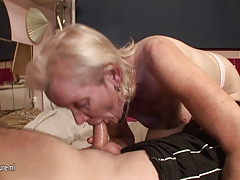 Highly  Granny just gets the fuck of a lifetime