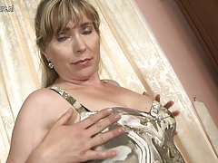 One hot sexy mature mommy and wife