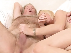 Experient Couple - Granny Wife and  Old Hubby