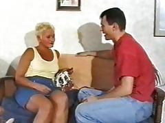 Christine - Steamy Mature  Granny Penetrating Young Guys