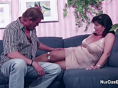 German  and Dad in Pornography Audition for less Money