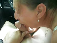 Gentle Blowjob in the Car